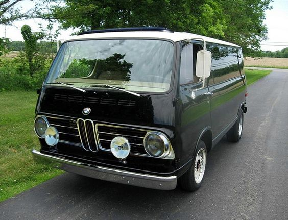1967 Bmw 069i Panel Van Made A Few Years After They Split