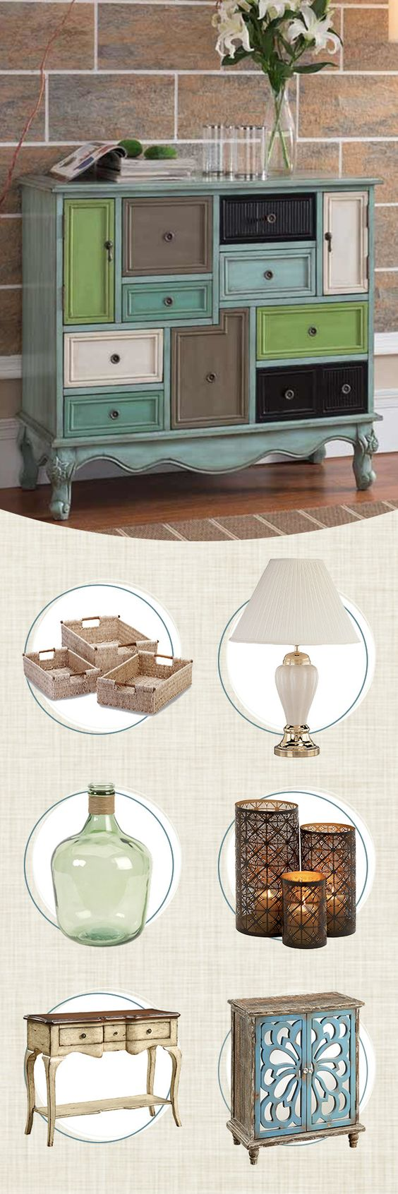 Whether you're looking to show off some family heirlooms with a new display cabinet or add some additional storage space, accent chests and cabinets seamlessly combine form and function to make your space truly your own. Visit Wayfair and sign up today to get access to exclusive deals everyday up to 70% off. Free shipping on all orders over $49.