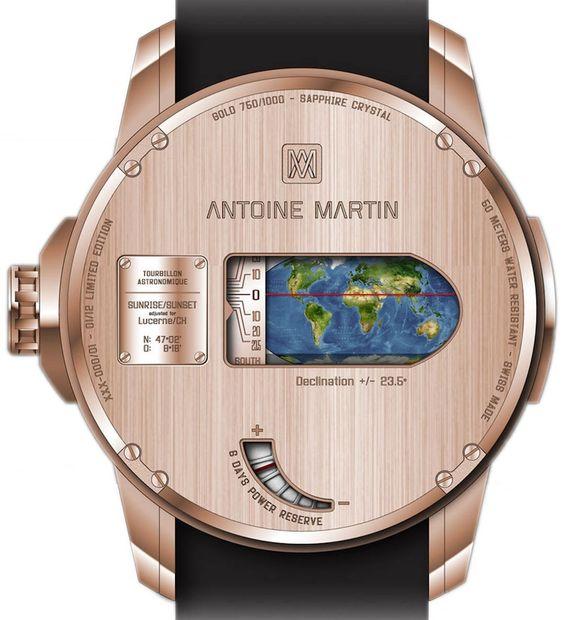 Antoine Martin Tourbillon Astronomique (back) $565,000