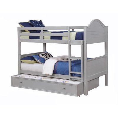 Harriet Bee Jepson Bunk Bed Color Gray Bunk Beds Bunk Bed Sets