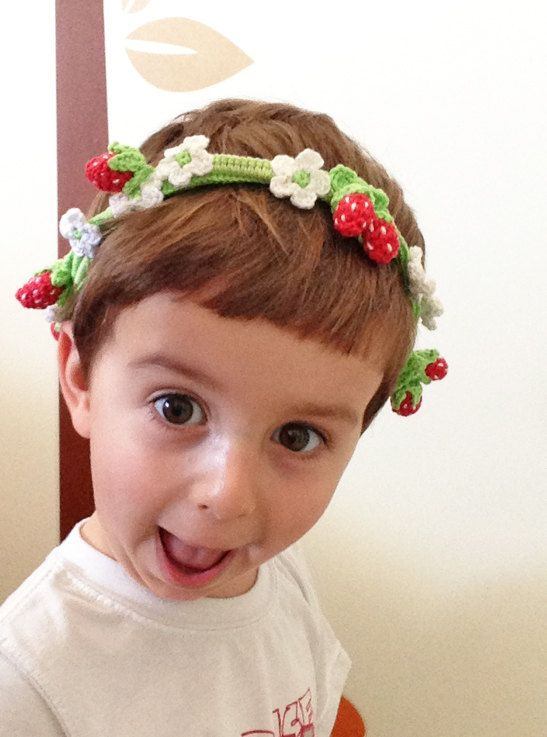 Hey, I found this really awesome Etsy listing at https://www.etsy.com/listing/154138936/strawberry-party-headband-for