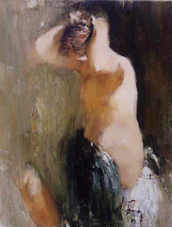 Nude  oil on linen, 2002