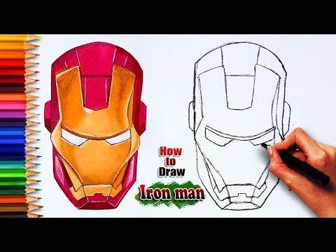 How To Draw Iron Man Avenger Endgame Avenger Endgame Iron Man Head Dra Iron Man Drawing Easy Easy Drawings For Kids Iron Man Avengers