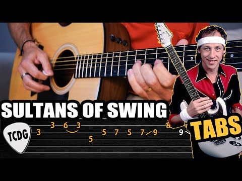 Como Tocar El Solo De Sultans Of Swing En Guitarra Acústica Tablaturas Tcdg Youtube Sultans Of Swing Guitar Lessons Music Teacher Lessons