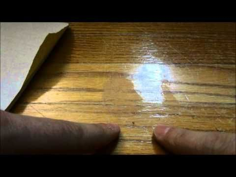 How To Fix Gouges Dents And Deep Scratches In Hardwood Floors Youtube With Images Wood Floor Repair Scratched Wood Flooring