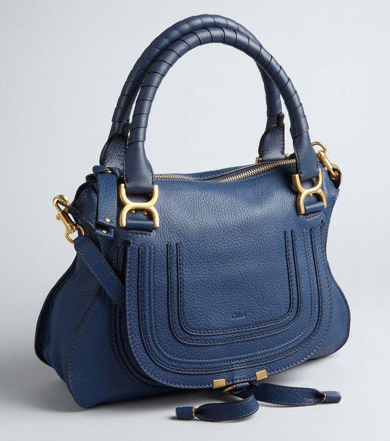 chloe replica cheap handbags purse authentic real navy blue