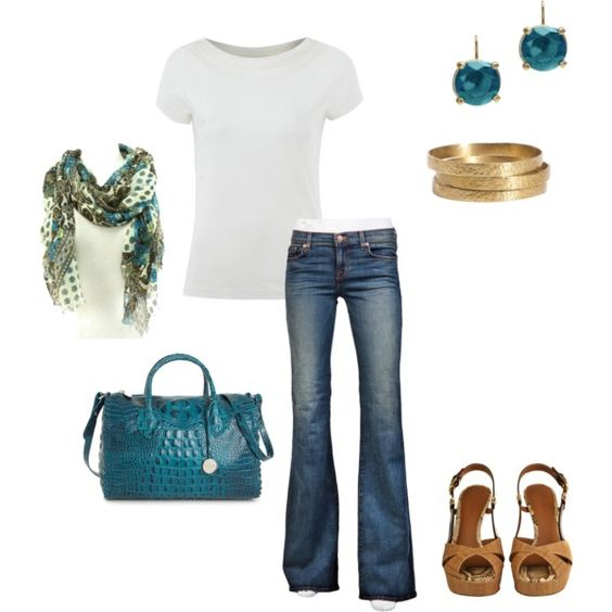 """Blue"" by vintagesparkles78 on Polyvore"