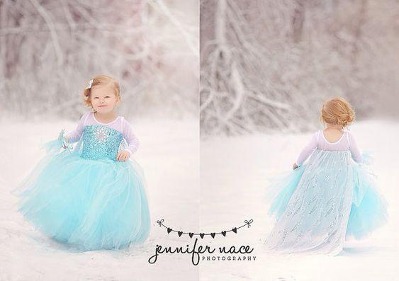 Frozen costume Elsa  inspired  tutu costume 3t: