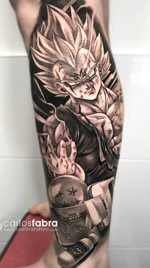 Me Quiero Hacer Este Dragon Ball Tattoo Z Tattoo Dbz Tattoo