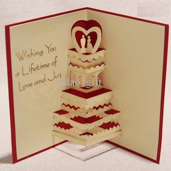 Creative Birthday Cards Handmade ~ Gallery for gt how to make handmade d greeting card designs pinterest birthdays