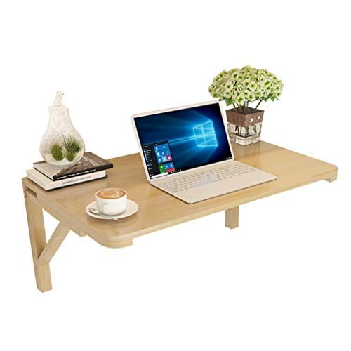 Desk For Small Spaces Wood Folding Wall Mounted Drop Leaf Table