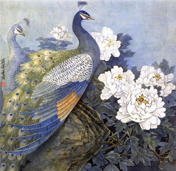 Павлин в китайском изобразительном искусстве: 13 тыс изображений найдено в Яндекс.Картинках: