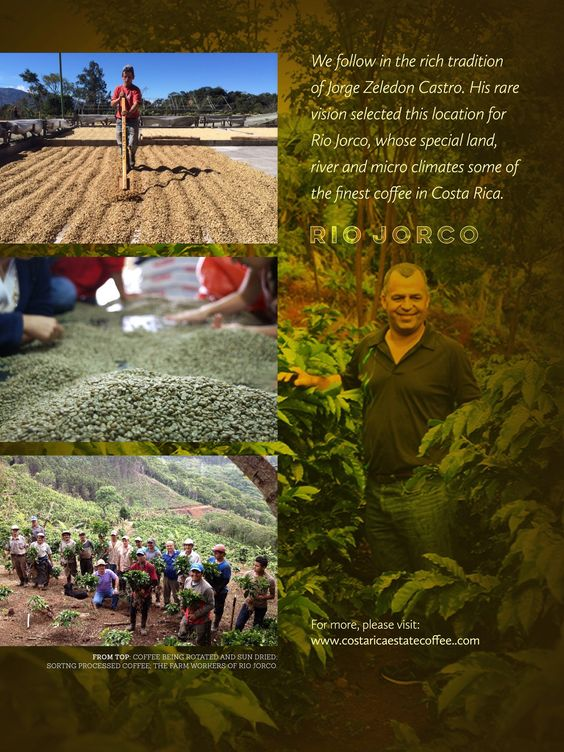 """""""At Rio Jorco, passion for coffee and community has gone hand in hand for generations."""" http://www.coffeeloversmag.com/nov2014 #clmquotes #coffee"""