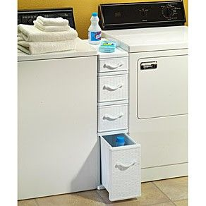shelf between washer and dryer storage space between. Black Bedroom Furniture Sets. Home Design Ideas
