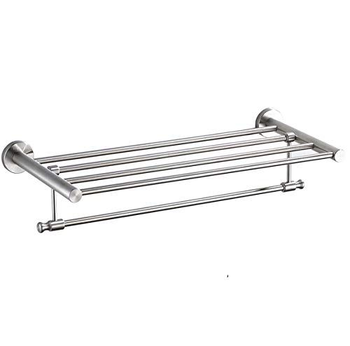 Homeelegance Towel Rack Wall Mounted Foldable 304 Stainless Steel