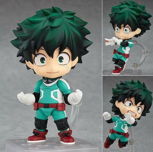 Nendoroid 686 Anime My Hero Academia Izuku Midoriya PVC Figure Toy Gift In Box