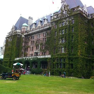 Empress Hotel in Victoria, Vancouver Island.