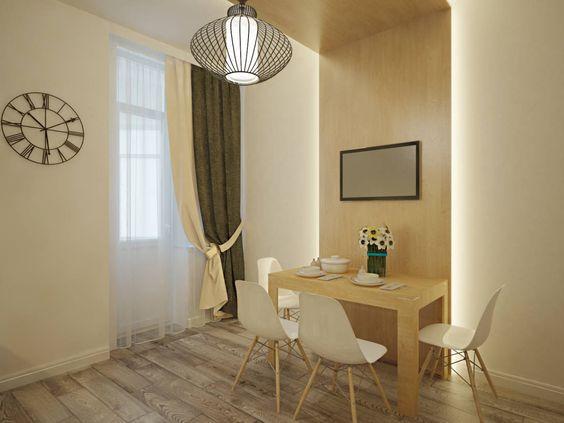 Квартира в современном минимализме : Кухня в стиле минимализм от Polovets & Tymoshenko design studio