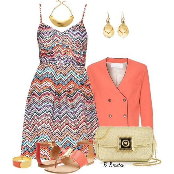 Dress and Flat Sandals