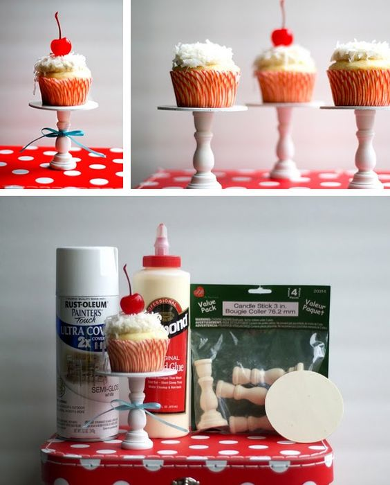 DIY darling little stands! Making these ASAP!