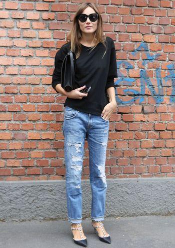 30 looks para el puente - StreetStyle - Moda Primavera Verano 2013 - Elle - ELLE.ES