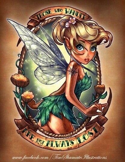 Tattooed DisneyPrincesses kinda neat!