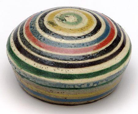 via The Potter's Brush: The Kenzan Style in Japanese Ceramics
