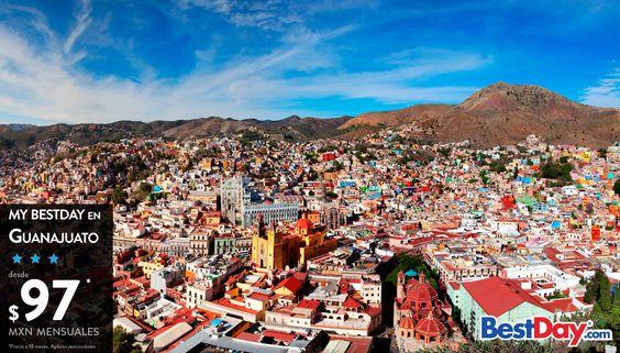 Los días de asueto son más bonitos en #Guanajuato. ¿Te animas a descubrirlo?