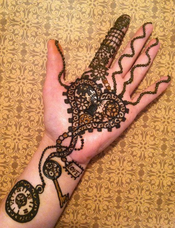 Mehndi Wrist Key : Beautiful mehndi design and henna on pinterest