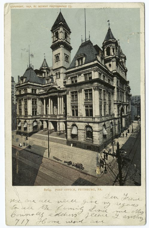 Post Office, Pittsburgh, Pa - ID: 67595 - NYPL Digital Gallery