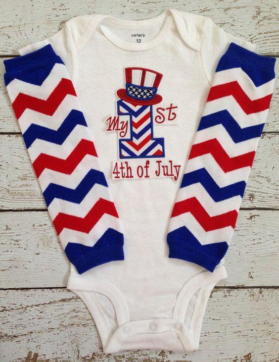 baby boy 4th of july shirt