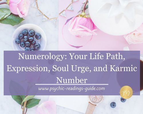 The LifePath Expression Soul Urge and Karmic Number t