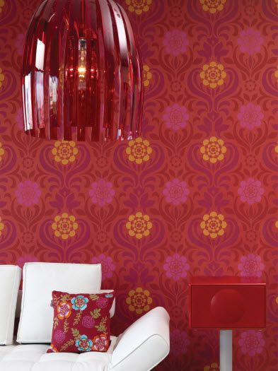 HGTV HOME Sherwin-Williams Wallpaper: Color Pizazz #wallpaper #hgtvhome