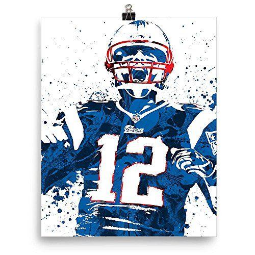 Tom Brady New England Patriots Poster Pixartsy Https Www Amazon Com Dp B075zmdq9k Ref Cm Sw R Pi Dp U X Rtakaba5z2 Tom Brady News Patriotic Posters Tom Brady