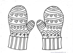 Winter Hat And Mittens Craft Ideas For Kids Preschool And