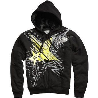 Fox Rockstar Showcase Sasquatch Zip Hoodie. I bought this for him for Christmas also :)