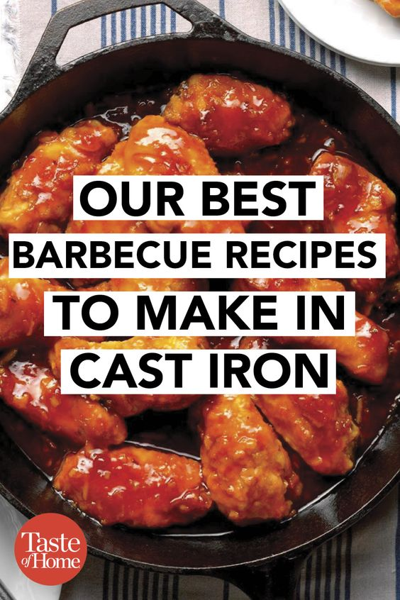 Our Best Barbecue Recipes to Make in Cast Iron