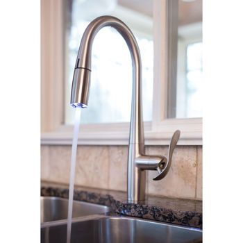 faucets kitchen faucets and led on pinterest