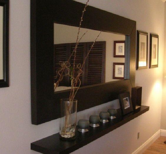 Recibidor recibidor pinterest ideas interiores - Decoracion de entradas de casas ...