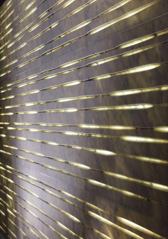 3d Wall Surface Design By Raffaello Galiotto Back Lit
