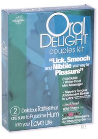 www.touchingbodymindandsoul.com - Oral Delights Couples Kit