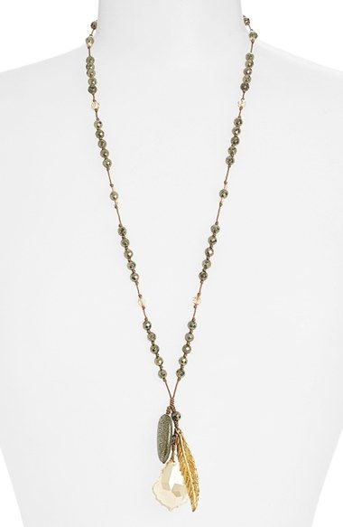 Chan+Luu+Long+Cluster+Pendant+Necklace+available+at+#Nordstrom