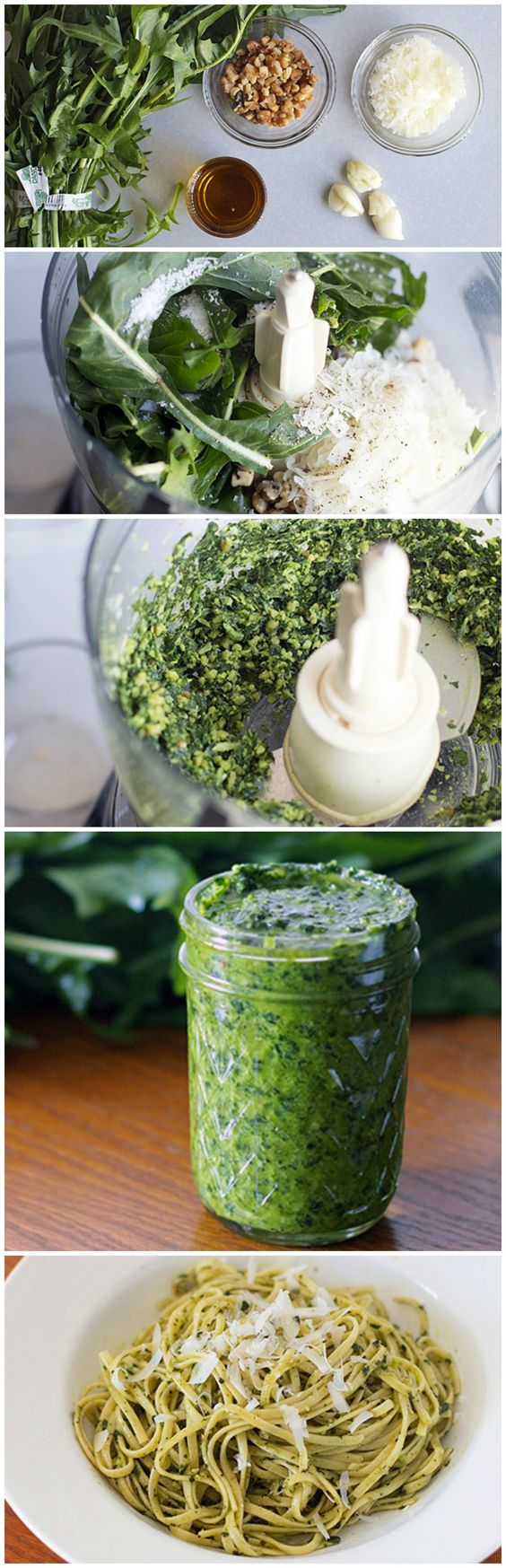 Green pesto, Pesto and Dandelion greens on Pinterest