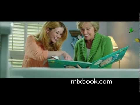 Mixbook baby commercial
