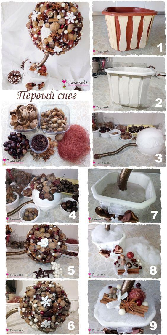 Decorazioni in Stile rustico: 20 idee da realizzare con frutta secca
