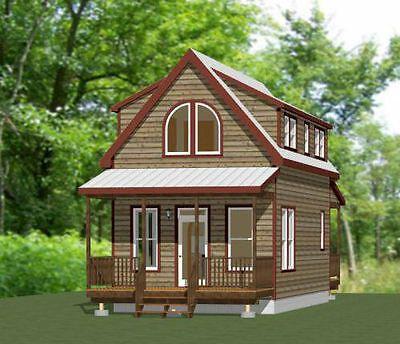 16x30 House 878 Sq Ft Pdf Floor Plan Model 23c 29 99 Picclick Building A Small House Small House Floor Plans Tiny House Plans
