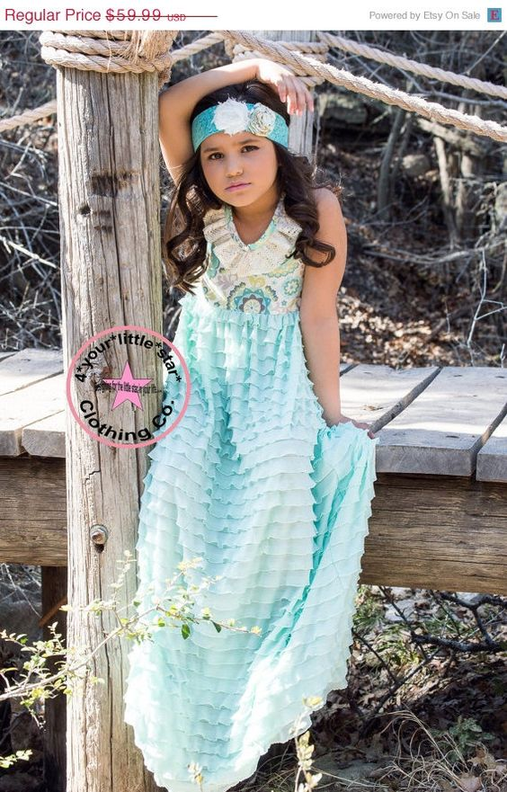 On Sale Summer Vintage Collection Lace ruffled by 4yourlittlestar