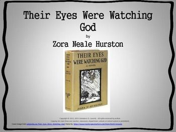 an analysis of literary elements in their eyes were watching god a novel by zora neale hurston This novel is the story of janie crawford's search for love, told, as noted earlier, in the form of a frame  their eyes were watching god zora neale hurston.