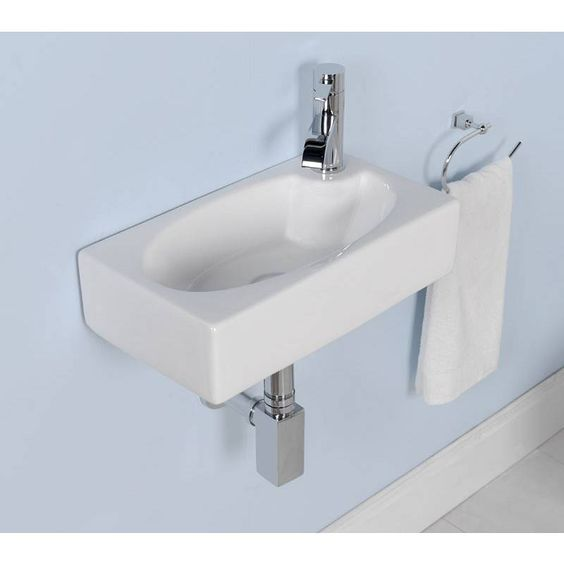 Tiny Powder Rooms Sinks And Small Sink On Pinterest