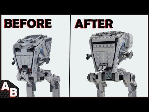 CAN you make an AT-ST Walker into a First Order AT-ST? The